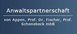 Anwaltspartnerschaft Appen/Fischer/Schonebeck